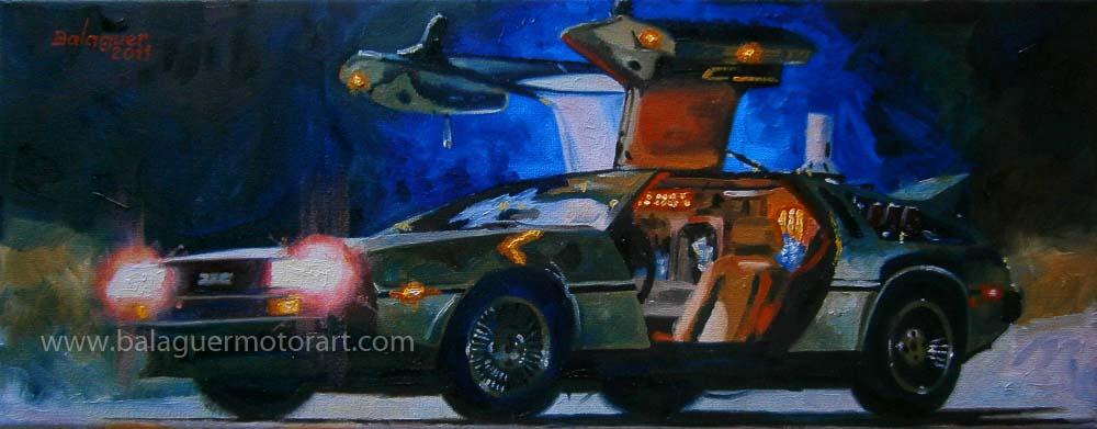"""""""Back to the Future"""" 1985 · DeLorean DMC-12"""
