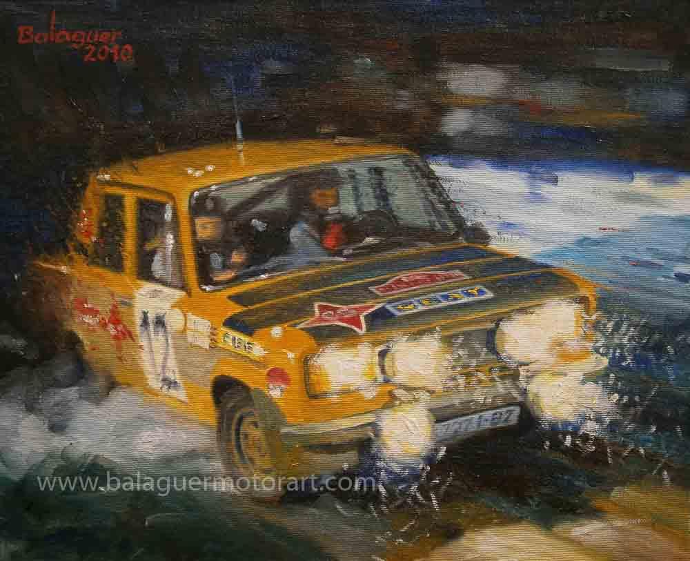 Antonio Zanini & Juan Petisco · Monte-Carlo 1977 · Seat 124 especial 1800