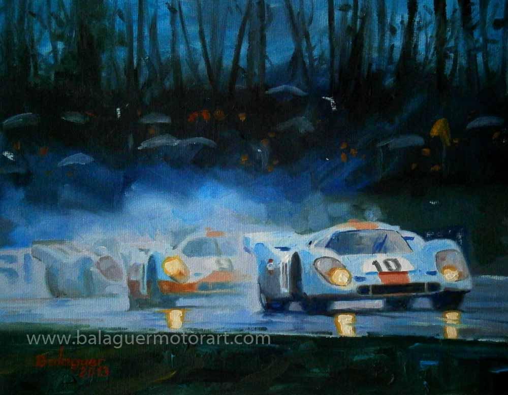 Pedro Rodríguez & Leo Kinnunen · 1000 km Brands Hatch 1970 · Porsche 917